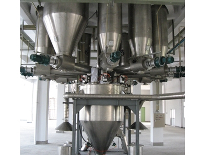 颗粒料粉末粉剂配料自动化生产线